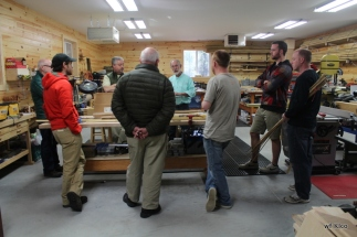 Day 1 Fly Rod Building Class with Ron Barch - April 17-24, 2015