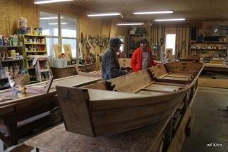 David and boat builder