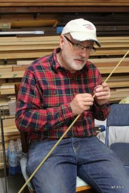 Bill removing binding string.