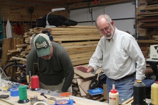 Tim and Ron binding