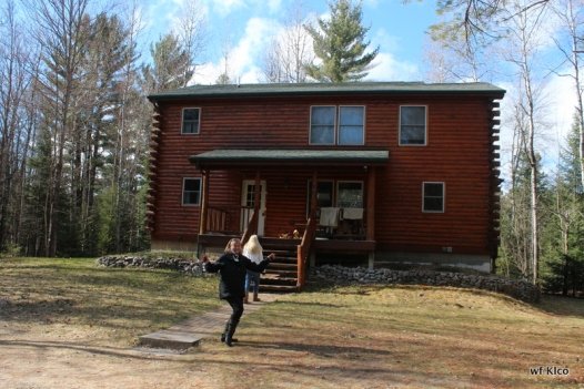 Ince's cottage on the Au Sable River